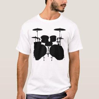 Contrabaixo Drumset - luz Camiseta