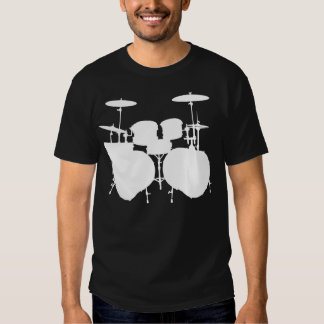 Contrabaixo Drumset - obscuridade Tshirts