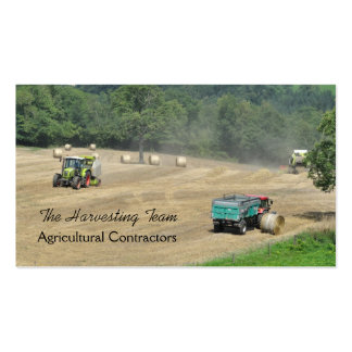 Contratante agrícola version2 cartao de visita