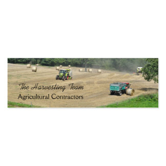 Contratante agrícola version2 modelos cartão de visita
