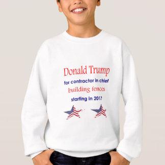 Contratante no chefe, presidente de Donald Trump Agasalho