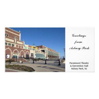 Convenção salão do teatro de Paramount - parque NJ Cartão Com Foto