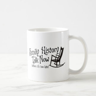 Conversa agora antes que estiver demasiado caneca de café