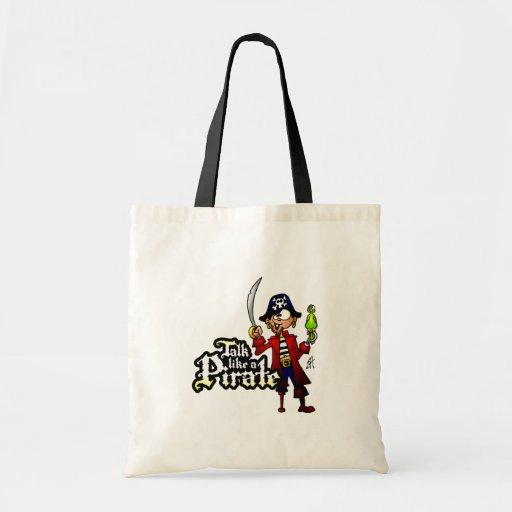 Conversa como um pirata bolsa para compra