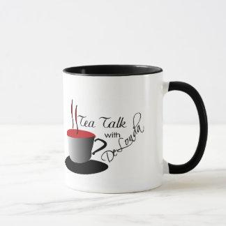Conversa do chá com caneca de DeLonda