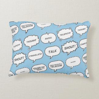 Conversa do travesseiro almofada decorativa