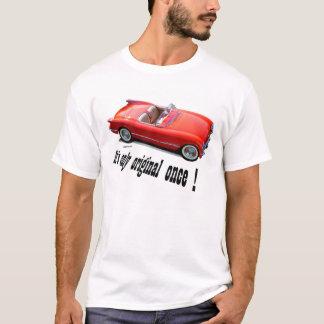 Convertible 1955 de Chevrolet Corvette Camiseta