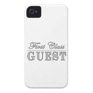 Convidado da primeira classe dos convidados capas de iPhone 4 Case-Mate