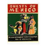 convidados de México Cartões Postais