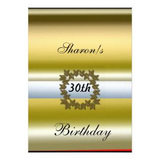 Convide o convite formal da festa de aniversário