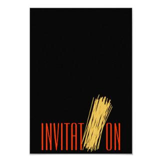 Convite Convite 8.89 X 12.7cm