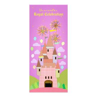 Convite 029 do aniversário de criança: Castelo II