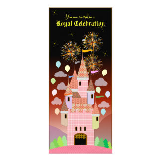Convite 029 do aniversário de criança Castelo IIB
