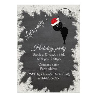 Convite 12.27 X 17.78cm Festa natalícia incorporada do quadro engraçado do