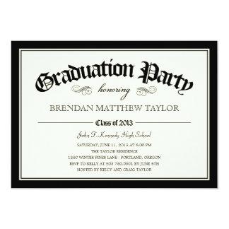 Convite 2013 da festa de formatura do diploma convites