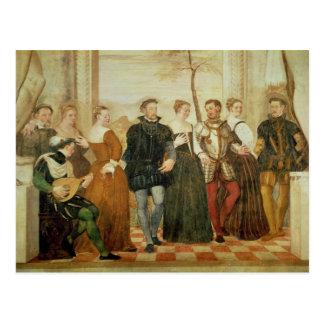 Convite à dança, 1570