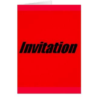 Convite à graduação cartão comemorativo