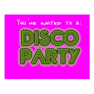 Convite a um partido de disco