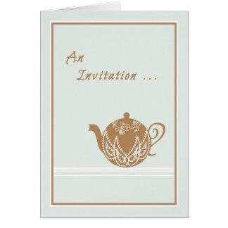 Convite a uma tarde do chá