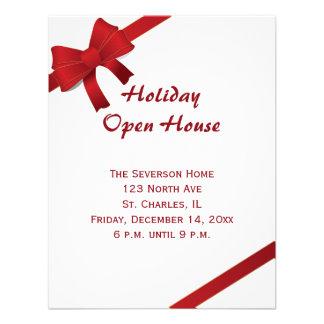 Convite aberto da festa em casa do feriado dos arc