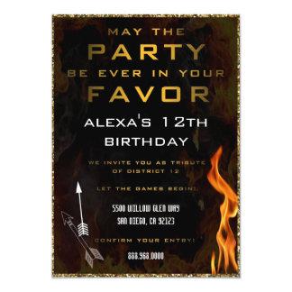 Convite adolescente do aniversário
