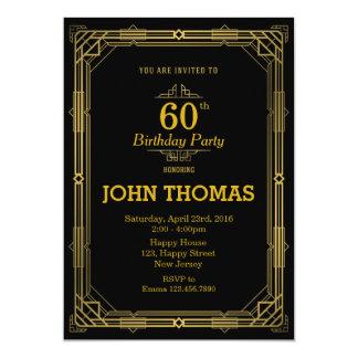 Convite adulto do aniversário