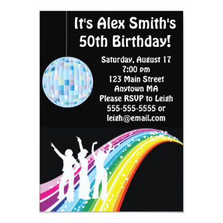 Convite adulto do aniversário do miúdo da dança do