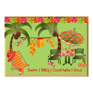 Convite adulto dos cocktail do CHURRASCO da festa