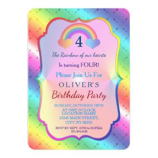 Convite alegre do aniversário do MENINO das setas
