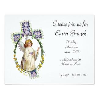 Convite: Amanhecer da páscoa Convite 10.79 X 13.97cm