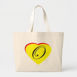Convite amarelo do casamento do vermelho O do cora Bolsa Para Compra