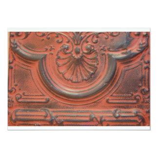 Convite antigo do azulejo do teto