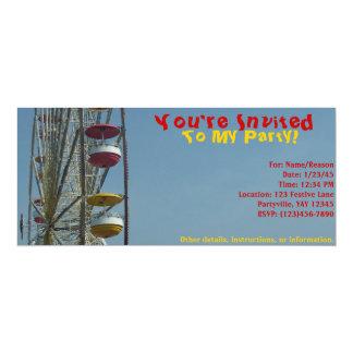Convite ao circo