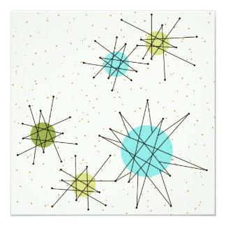 Convite atômico icónico de Starbursts