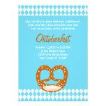 Convite bávaro de Oktoberfest da bandeira & do pre
