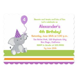 Convite bonito do aniversário de criança do