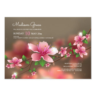 Convite borrado das flores