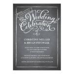 Convite branco do casamento do roteiro do quadro convite 12.7 x 17.78cm