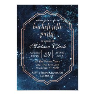 Convite celestial da festa de solteira do céu da
