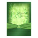 Convite celta do nó de amor do dia de St Patrick