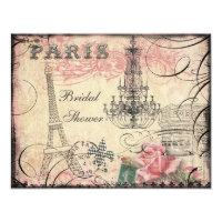 Chá de panela chique da torre Eiffel & do
