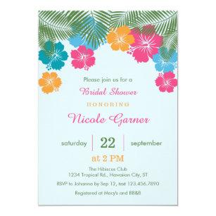 Convites Chá Panela Havaiano Zazzlecombr