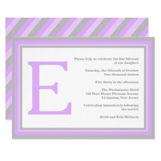 convite cinzento roxo