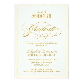 Convite clássico da graduação