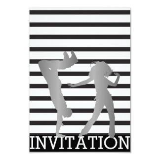 Convite clássico de Dico Hip Hop Vip da dança de