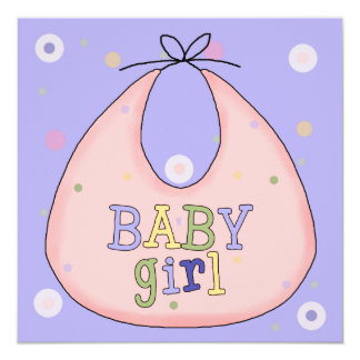 Convite colorido do chá do bebé do babador