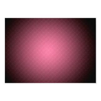 Convite cor-de-rosa do teste padrão