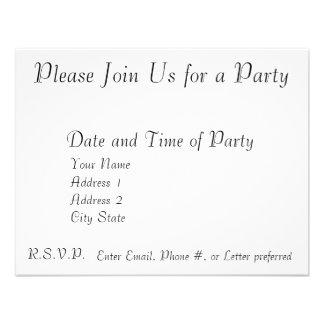 Convite customizável do ano novo