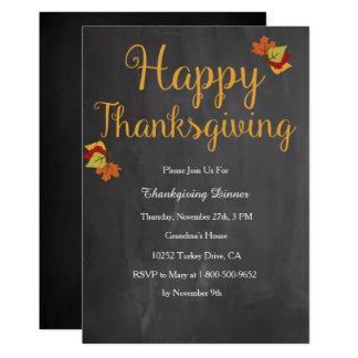 Convite da acção de graças