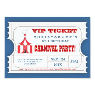 Convite da admissão do bilhete do partido do